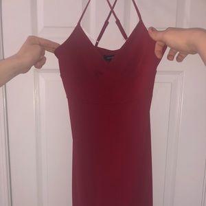 Express red dress!